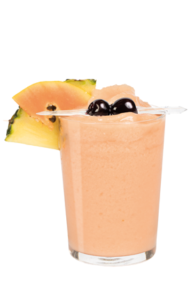 Smoothie Ananas e Papaya